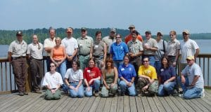 Participants of MBWG First Annual Mist Net Event
